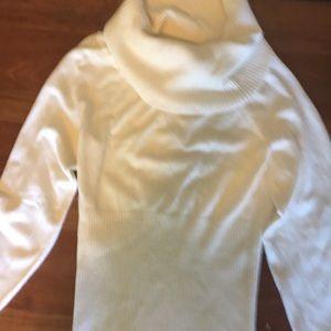 Sweaters - A beautiful cream colored sweater. Soft & elegant